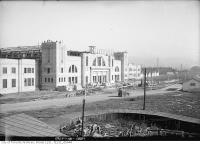 Historic photo from Saturday, October 15, 1921 - C.N.E., construction of the Coliseum in CNE