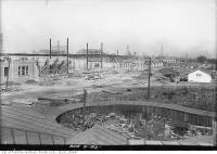 Historic photo from Friday, August 5, 1921 - C.N.E. Coliseum construction in CNE