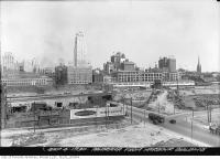 Historic photo from Thursday, September 4, 1930 - Aerial view of Toronto northeast from Toronto Harbour Commission building in Harbourfront