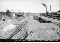 Historic photo from Tuesday, October 25, 1927 - C.N.R. Riverdale Station, Queen and De Grassi streets in Riverside-South Riverdale