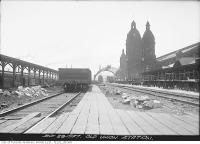 Historic photo from Wednesday, June 29, 1927 - Demolition of Old Union Station in Financial District