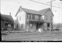 Historic photo from Thursday, November 25, 1920 - Bedford Park Hotel at 3296 Yonge Street south of Fairlawn in Bedford Park