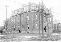Historic photo from Tuesday, November 22, 1921 - Oulcotts Hotel converted to Postal Station K, No. 2388 Yonge Street, formerly  in North Toronto