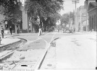 Historic photo from Wednesday, July 26, 1911 - Victoria and Shuter Streets looking east on Shuter Street in Garden District