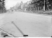 Historic photo from Thursday, November 28, 1912 - Keele Street and Indian Road looking north in High Park