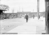Historic photo from Tuesday, May 13, 1913 - Yonge Street - Summerhill Avenue crossing in Summerhill
