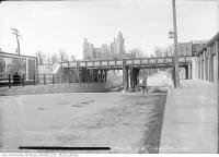 Historic photo from Tuesday, March 23, 1915 - Spadina Road - Dupont Street subway looking north to Casa Loma in Casa Loma