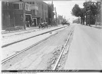 Historic photo from Thursday, July 17, 1919 - Roncesvalles Avenue south at Grafton Avenue in High Park