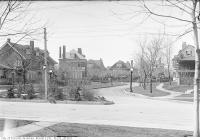 Historic photo from Tuesday, May 6, 1919 - Chestnut Park Road north from Roxborough Street East in Rosedale
