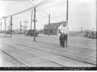 Historic photo from Tuesday, June 1, 1937 - Dundas Street looking southeast from west of Sterling Road in The Junction