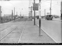 Historic photo from Tuesday, June 1, 1937 - Dundas Street east across Sterling Road in The Junction