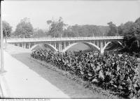 Historic photo from Thursday, August 30, 1917 - Last Crawford Street bridge in Trinity Bellwoods