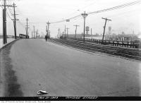 Historic photo from Wednesday, March 21, 1923 - Dundas Street bridge west to Sterling Road in The Junction