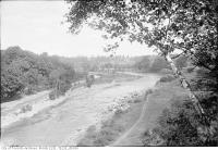 Historic photo from Wednesday, September 19, 1923 - Humber Drive from Baby Point in Baby Point