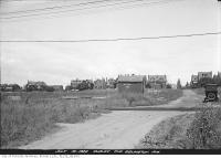 Historic photo from Friday, July 14, 1922 - Duplex and Eglinton avenues, looking north in North Toronto
