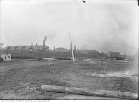 Historic photo from Tuesday, July 26, 1910 - Central Prison, King St. West near Strachan Avenue in Stanley Park