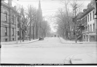 Historic photo from Friday, May 9, 1919 - Bond Street and Dundas Street looking south in Garden District