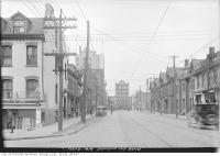 Historic photo from Friday, May 9, 1919 - Dundas Street west from Bond Street to Yonge in Garden District