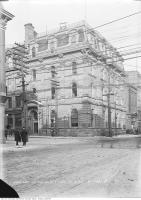 Historic photo from Tuesday, January 16, 1912 - Bank of British North America after redesign - N/E corner of Yonge and Wellington Streets in St. Lawrence