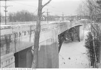 Historic photo from Friday, January 9, 1925 - St. Clair - Avoca bridge (south elevation from west end) in Moore Park