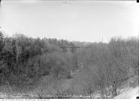 Historic photo from Wednesday, April 21, 1915 - St. Clair Avenue bridge, Moore Park in Moore Park