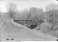 Historic photo from Wednesday, April 21, 1915 - Summerhill Avenue bridge in Summerhill