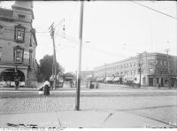 Historic photo from Thursday, September 29, 1910 - Mary Pickford Theatre on the left - originally The Auditorium Theatre - opened 1906 in Alexandra Park