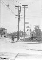 Historic photo from Friday, September 30, 1910 - Royce Avenue (Dupont Street) west at Perth Ave in The Junction