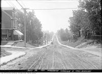 Historic photo from Tuesday, July 26, 1921 - Woodbine Avenue looking south from Duvernet toward Lake Ontario in Upper Beach