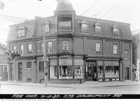 Historic photo from Thursday, October 2, 1930 - Scotts Grocery Store in The Annex