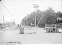 Historic photo from Tuesday, October 13, 1914 - St. Clair Avenue west to Bathurst Street after fill in Casa Loma