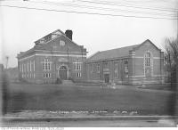Historic photo from Saturday, November 20, 1915 - Exterior of the High level waterworks pumping station in Republic of Rathnelly