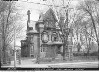 Historic photo from Tuesday, April 29, 1924 - No. 280 Bloor Street West, James Crowther residence in The Annex