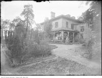 Historic photo from 1920 - Old residence, south side of Bloor Street West between Bay and Yonge in Yorkville