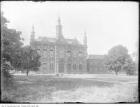 Historic photo from 1910 - Russell Square Old Upper Canada College, King Street West at Simcoe Street in Downtown