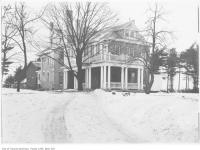Historic photo from 1908 - Robert John Fleming home, St. Clair Avenue West at Bathurst Street in Forest Hill