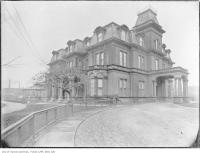 Historic photo from 1908 - Government House, Simcoe Street at King Street in Downtown