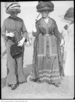 Historic photo from Sunday, June 4, 1911 - Fascinating Women and Charming Gowns snapped at the Woodbine Racetrack in The Beaches