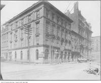 Historic photo from 1908 - St. Charles Hotel - northwest corner of Yonge Street & Melinda Street in Downtown