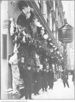 Historic photo from Friday, December 25, 1908 - Old St. Charles Hotel Christmas display, Yonge and King  in Downtown