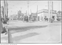 Historic photo from 1910 - Rosedale Hotel on Yonge street at Shaftensbury Avenue, just north of the CPR level crossing in Rosedale