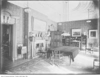 Historic photo from 1910 - Dining room, Joseph Flavelle's mansion Holwood in Queens Park