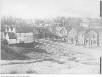 Historic photo from 1911 - 50 houses to be vacated Sully on Crescent, near College Street in College Street