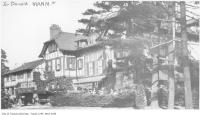 Historic photo from 1905 - Fallingbrook - Sir Donald Manns Summer home - built 1907 - burned down January 26, 1930 in Fallingbrook