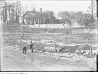 Historic photo from 1907 - Sunnyside Villa (now the site of St. Josephs Health Centre) in High Park