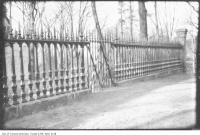Historic photo from Saturday, April 2, 1921 - High Park fence from St. Pauls Cathedral, London, England in High Park