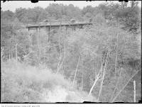 Historic photo from 1914 - Moore Park bridge at Avoca Vale near St. Clair Avenue East in Moore Park
