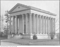 Historic photo from 1930 - Eaton mausoleum in Mount Pleasant Cemetery in Mount Pleasant Cemetery