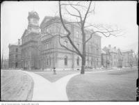Historic photo from 1911 - Toronto Normal School, Gould Street - now Ryerson in Ryerson