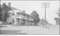 Historic photo from 1920 - Half-Way House Hotel, Kingston Road - moved to Black Creek Pioneer Village in Cliffside